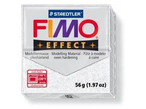 Modelovací hmota FIMO Effect termotvrdnúca - 56 g - Třpytivá bílá kreatívne potreby kreatívne potreby