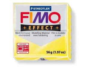 Modelovací hmota FIMO Effect termotvrdnúca - 56 g - Transparentní Žlutá kreatívne potreby kreatívne potreby