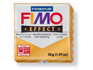 Modelovací hmota FIMO Effect termotvrdnúca - 56 g - Metalická Zlatá kreatívne potreby kreatívne potreby