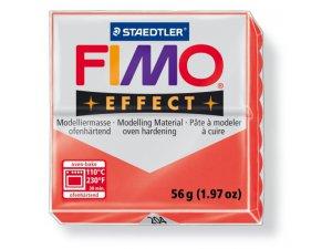 Modelovací hmota FIMO Effect termotvrdnúca - 56 g – Transparentní Červená kreatívne potreby kreatívne potreby