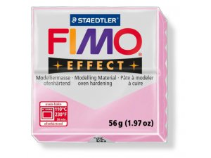 Modelovací hmota FIMO Effect termotvrdnúca - 56 g - Pastelová Růžová kreatívne potreby kreatívne potreby