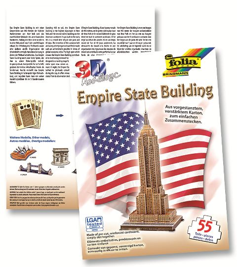 3D-Model Empire State Building 55 dílů