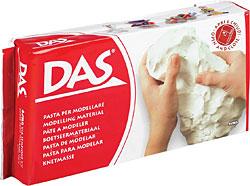 Modelovací hmota DAS - white na vzduchu tvrdnoucí hmota