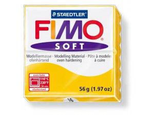 Modelovacia hmota FIMO Soft termotvrdnúca - 56 g – Okrová kreatívne potreby kreatívne potreby