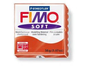 Modelovacia hmota FIMO Soft termotvrdnúca - 56 g – Červená kreatívne potreby kreatívne potreby