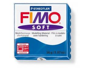 Modelovacia hmota FIMO Soft termotvrdnúca - 56 g – Modrá kreatívne potreby kreatívne potreby