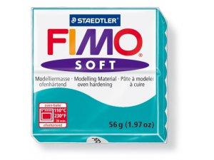 Modelovacia hmota FIMO Soft termotvrdnúca - 56 g – Tyrkysová kreatívne potreby kreatívne potreby