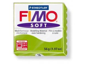 Modelovacia hmota FIMO Soft termotvrdnúca - 56 g - Světle zelená kreatívne potreby kreatívne potreby
