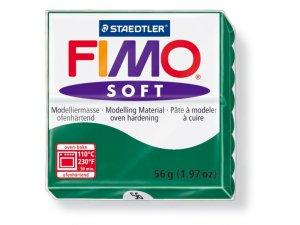 Modelovacia hmota FIMO Soft termotvrdnúca - 56 g – Tmavě zelená kreatívne potreby kreatívne potreby