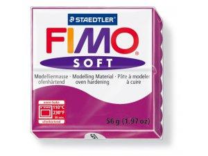 Modelovacia hmota FIMO Soft termotvrdnúca - 56 g – Purpurová kreatívne potreby kreatívne potreby