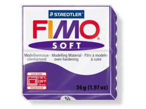 Modelovacia hmota FIMO Soft termotvrdnúca - 56 g – Fialová kreatívne potreby kreatívne potreby