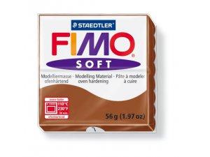 Modelovacia hmota FIMO Soft termotvrdnúca - 56 g – Hnědá kreatívne potreby kreatívne potreby