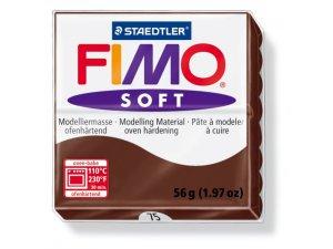 Modelovacia hmota FIMO Soft termotvrdnúca - 56 g – Čokoládová kreatívne potreby kreatívne potreby