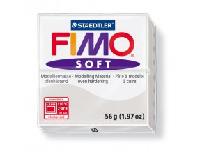 Modelovacia hmota FIMO Soft termotvrdnúca - 56 g – Šedá kreatívne potreby kreatívne potreby