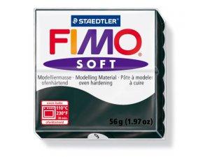 Modelovacia hmota FIMO Soft termotvrdnúca - 56 g – Černá kreatívne potreby kreatívne potreby