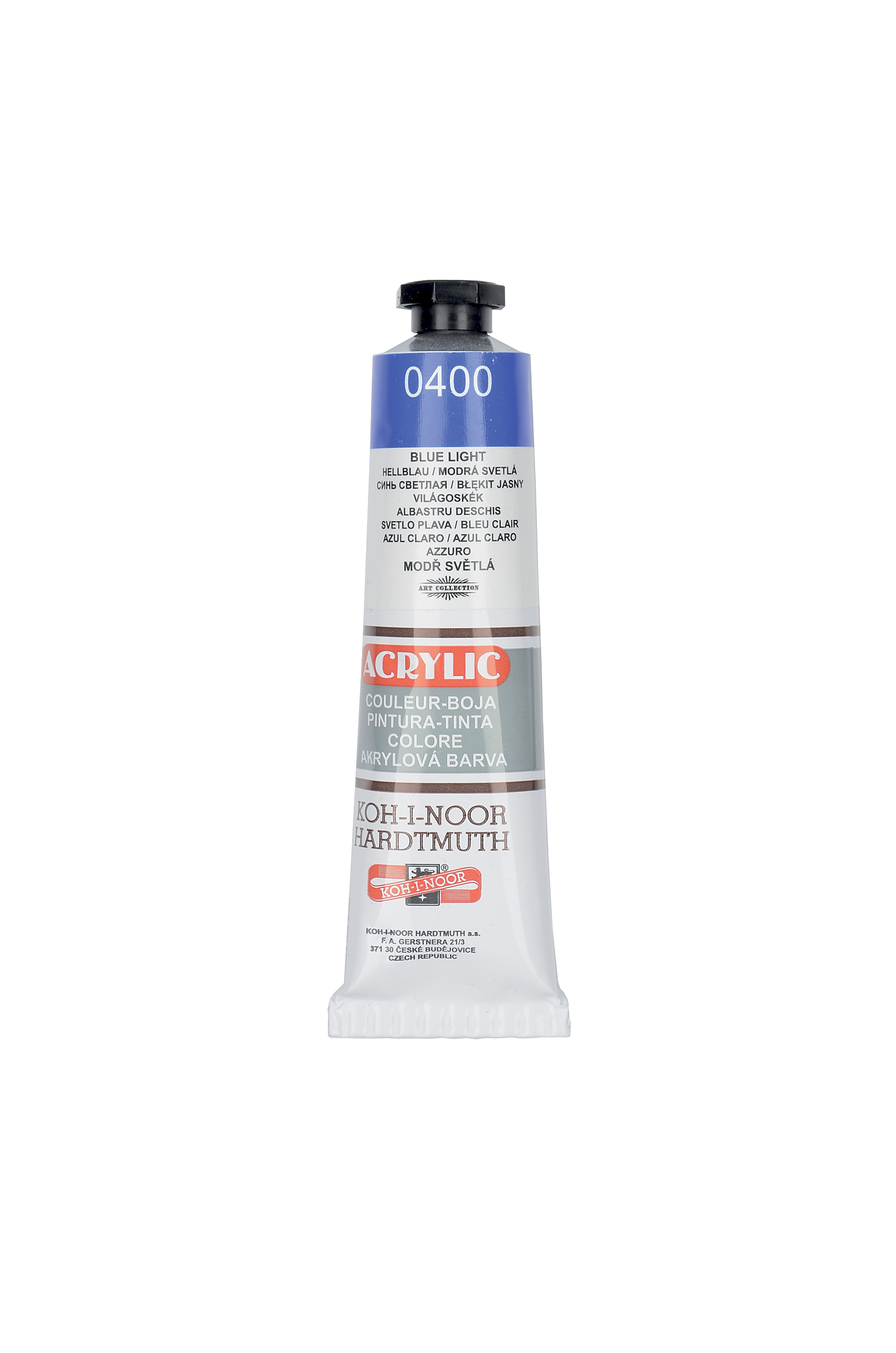 Barva akrylová koh-i-noor, 40ml / různé odstíny akrylová barva KOH-I-NOOR