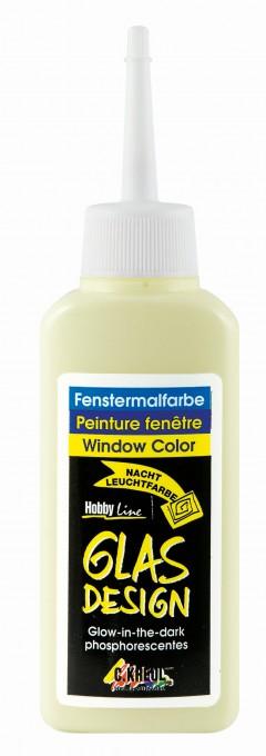 Barva na okno Hobby Line Glas Design 80 ml - Yello Hobby Line - C. Kreul
