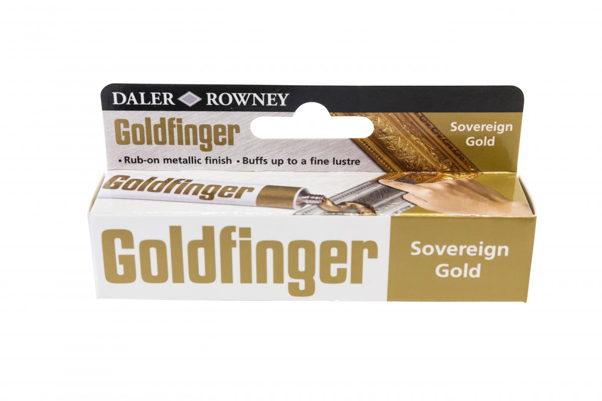 Daler - Rowney. Goldfinger - sovereign gold
