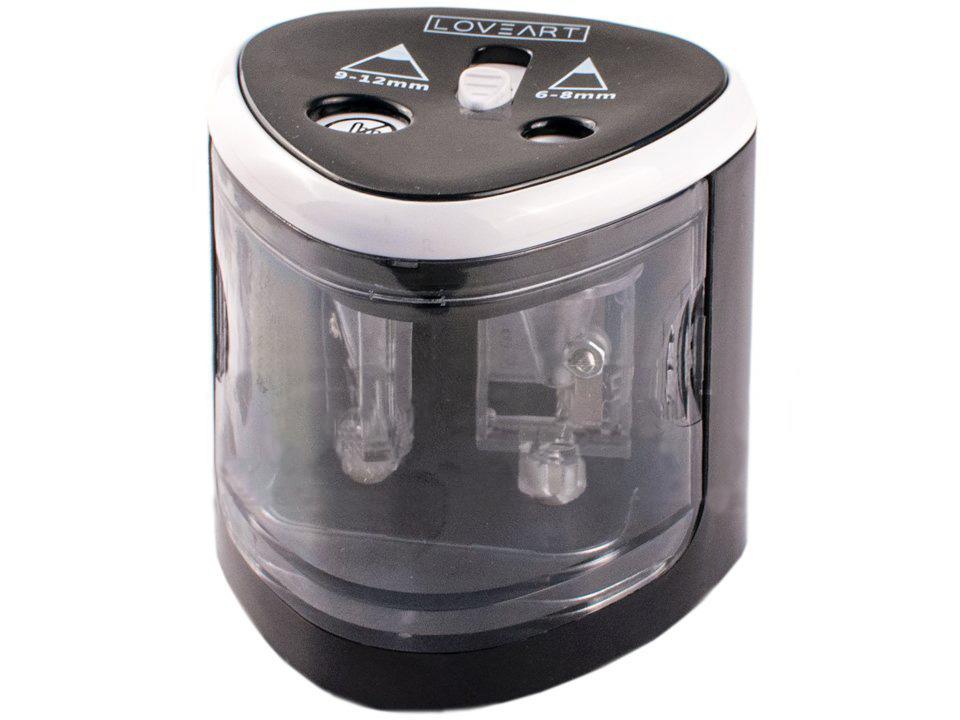 Elektrické stolní ořezávátko dvojité LOVEART elektrické ořezávátko
