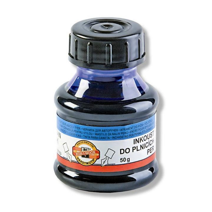 Inkoust do plnicích per modrý 50g inkoust KOH-I-NOOR
