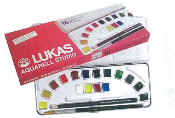 Lukas Aquarell studio sada akvarelových barev sada akvarelových barev LUKAS