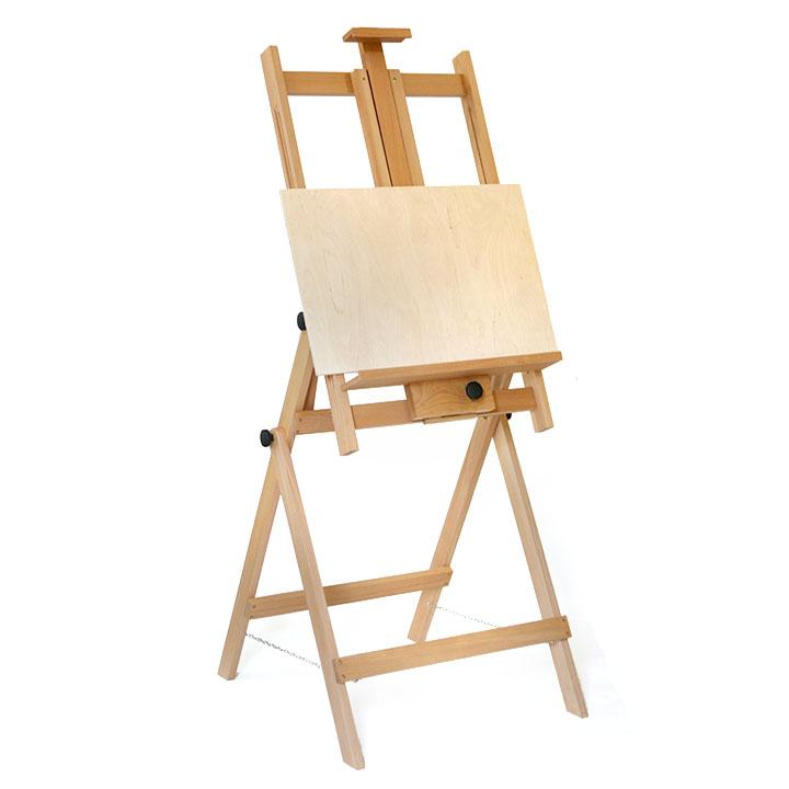 Malířský stojan akademický ateliérový LONDON 245 malířské stojany ateliérové