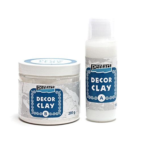 Odlévací směs Decor Clay / Decor Clay Small: 100 komp. B + 40 ml. komp. A Decor Clay Pentart