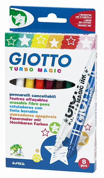 Fixy GIOTTO Turbo Magic / 8 barev