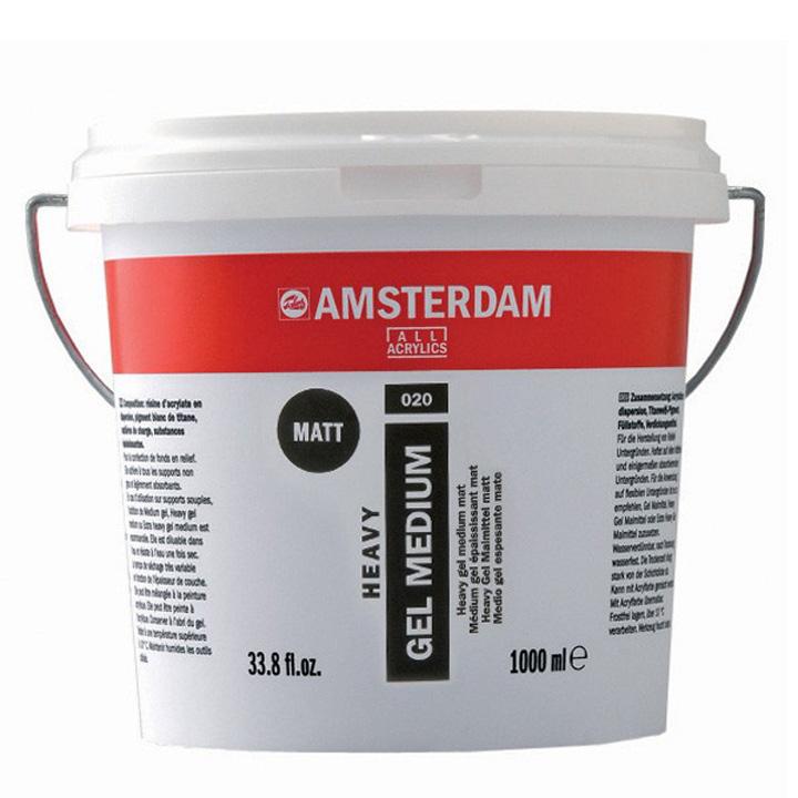 Matné médium AMSTERDAM 1000ml umělecké potřeby Royal Talens