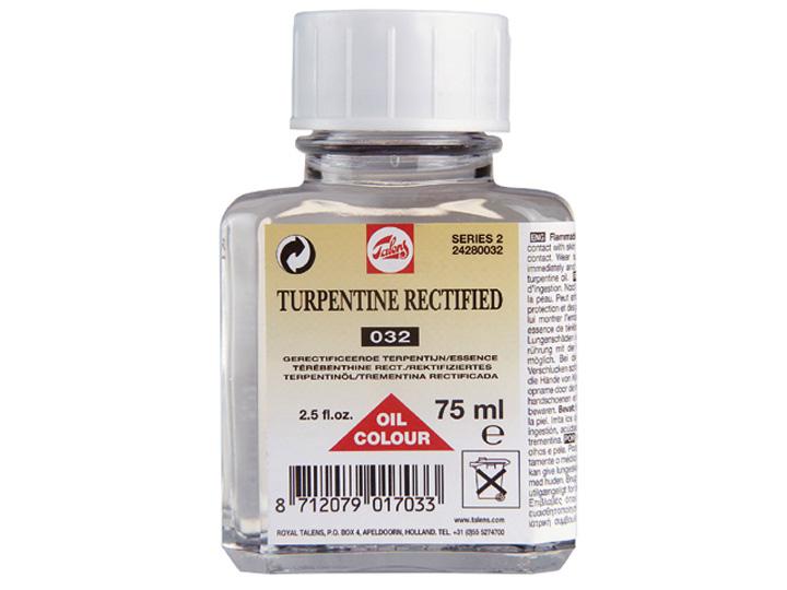 """Terpentínové rozpouštědlo """"rectified"""" TALENS 75ml umělecké potřeby Royal Talens"""