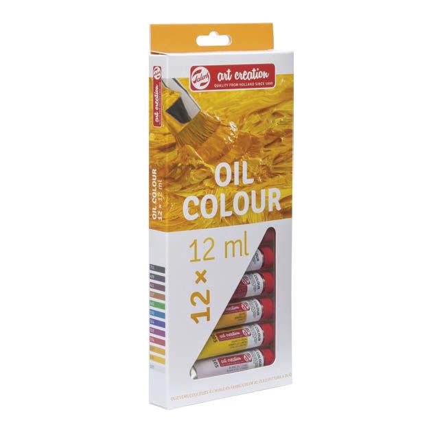 Sada olejových barev Royal Talens ArtCreation / 12 x 12 ml Olejové barvy Royal Talens