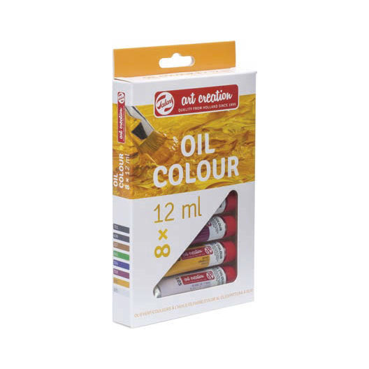 Sada olejových barev Royal Talens ArtCreation / 8 x 12 ml Olejové barvy Royal Talens