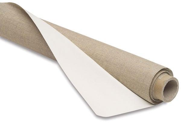 Prvotřídní malířské plátno v rolce / šířka 35cm Sleva -20% malířské plátno umělecké potřeby