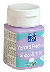 Barva na sklo a keramiku GLASS&TYLE 50ml - opaque - Ivory krycí barvy na sklo, keramiku a porcelán krycie farby na sklo,keramiku a porcelán