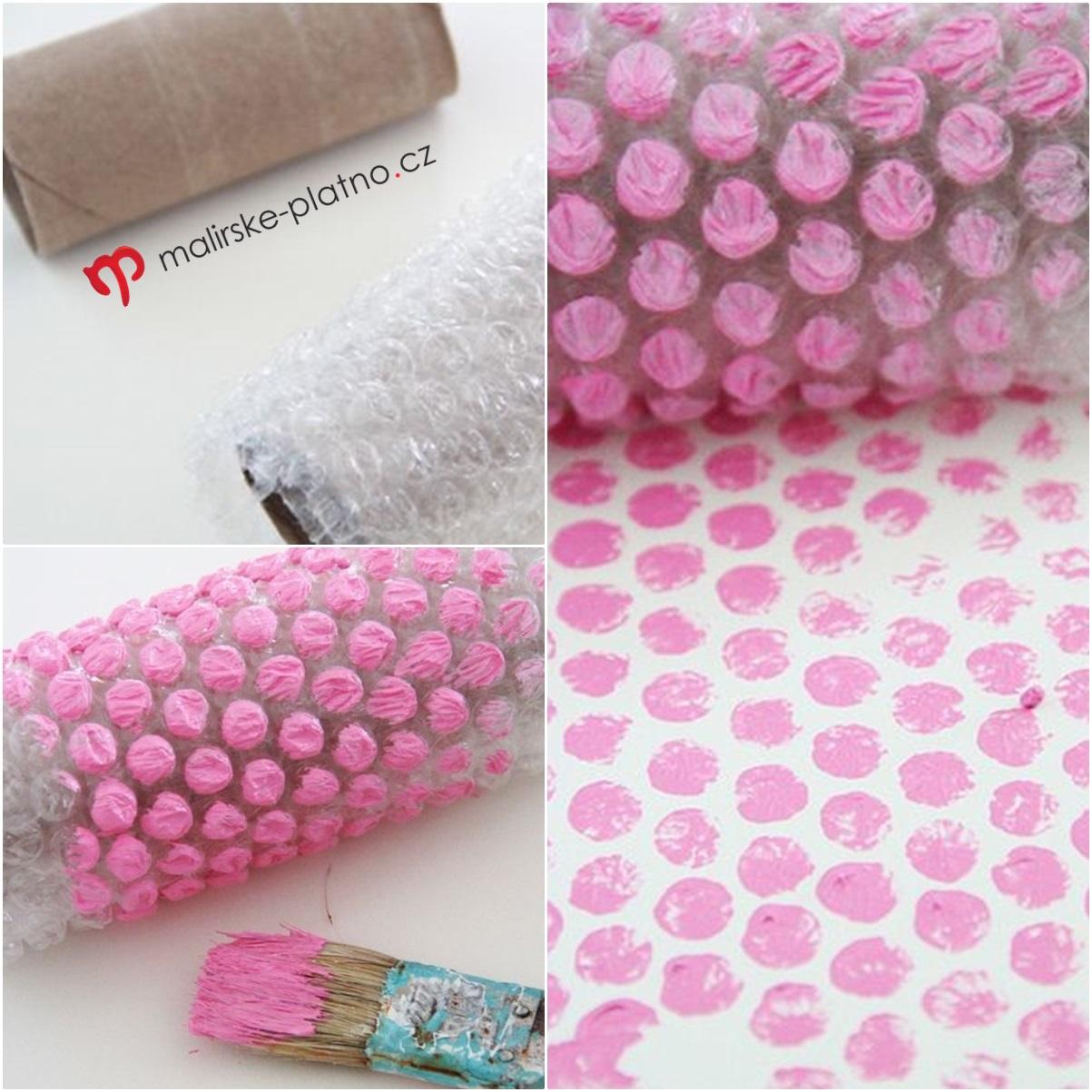 Bublinková fólie - šířka 100 cm obalový materiál