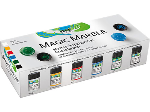 Sada barev Hobby Line -  Magic Marble