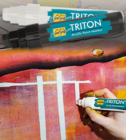 SOLO GOYA TRITON Akrylová fixa 15.0 – Silver umělecké potřeby umělecké potřeby
