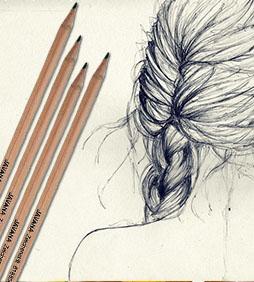 JAVANA tužka na hedvábí umělecké potřeby