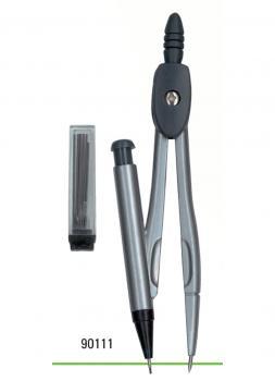 Kružítko kovové školní s náhradní tuhou LENIAR potřeby na kreslení