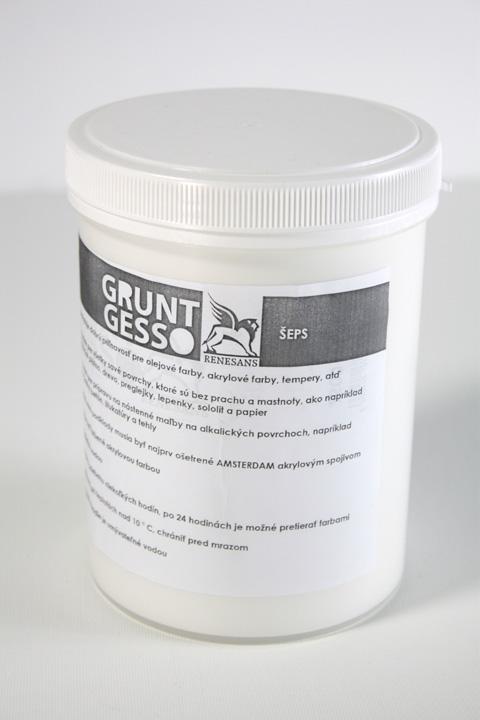 Podkladový šeps GRUNT Gesso - 1200 ml podkladový šeps
