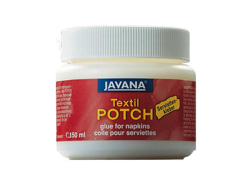 Lepidlo na ubrouskovou techniku TEXTIL potch - 150 ml JAVANA - C. Kreul Javan - C. Kreul