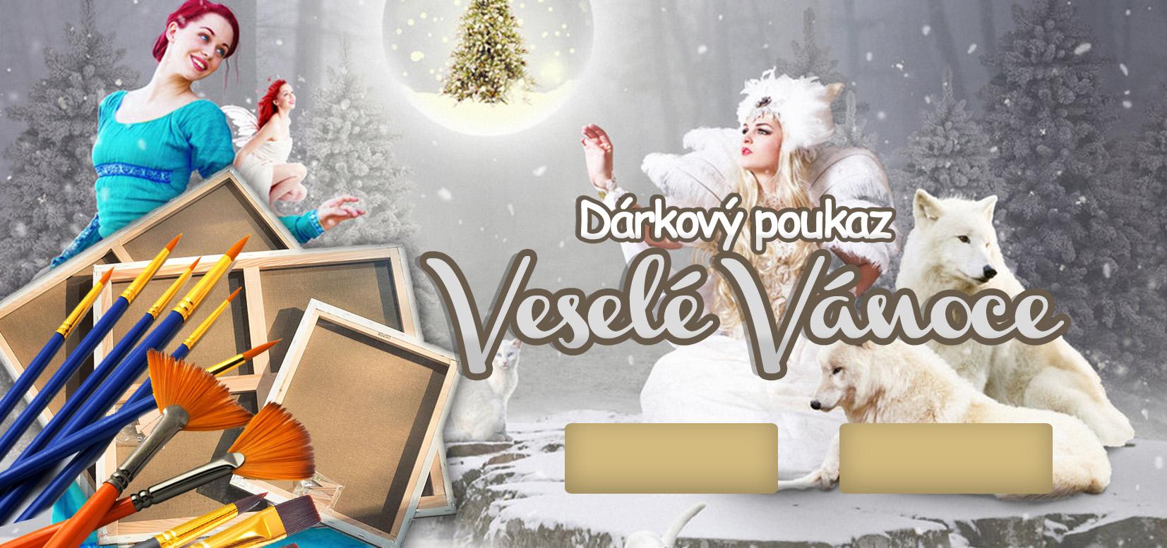 Image of Dárkový POUKAZ - Veselé Vánoce 1
