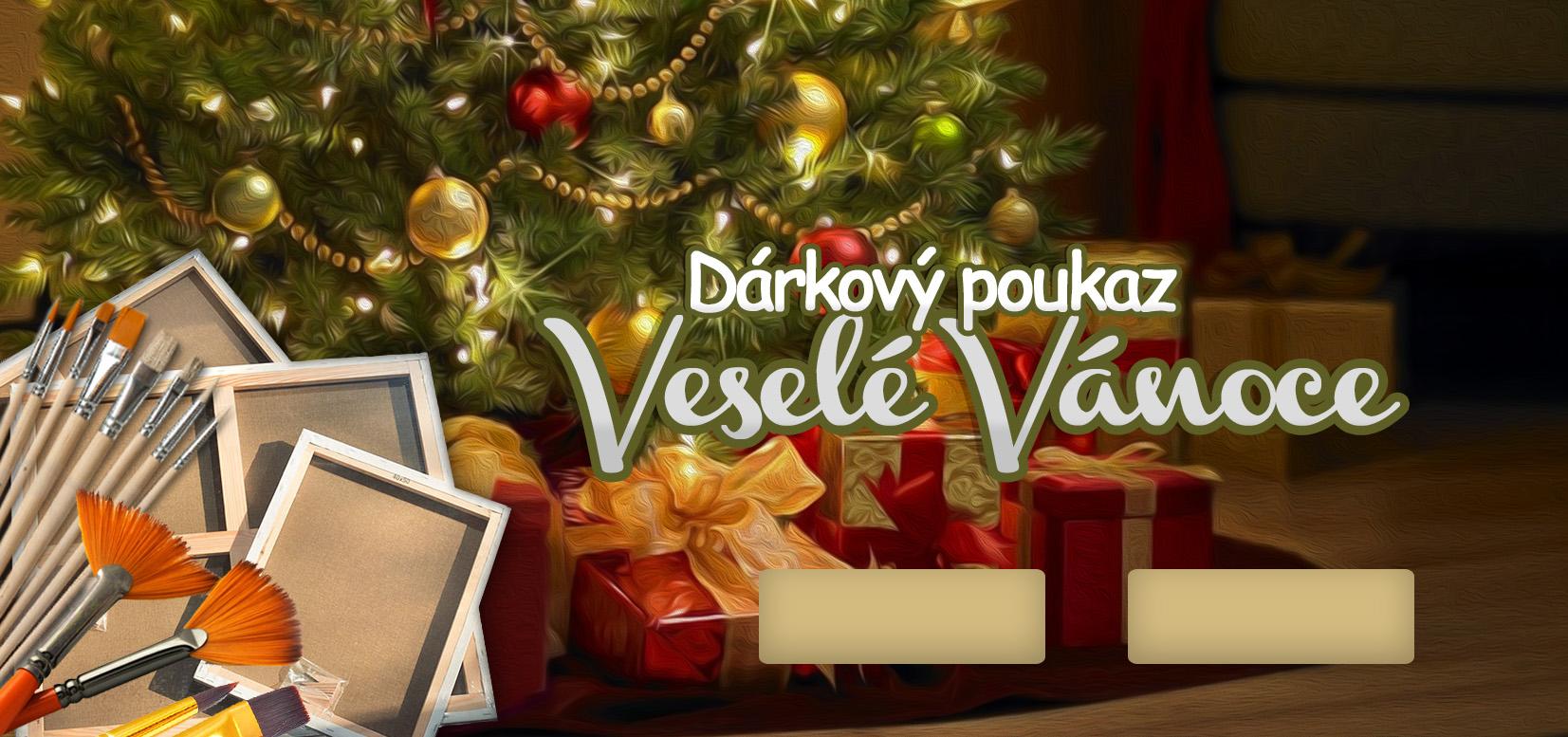 Image of Dárkový POUKAZ - Veselé Vánoce 2