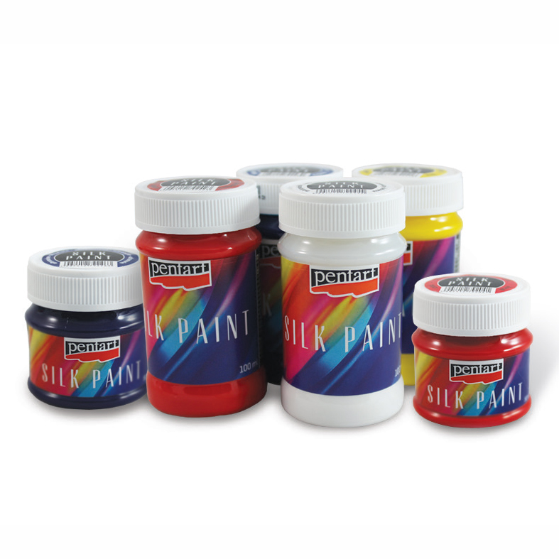 Barva na hedvábí - 50 ml - azure barvy na hedvábí PENTART