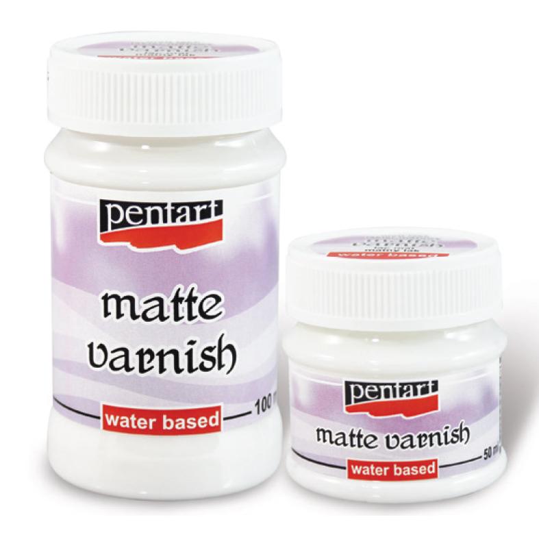 Závěrečný lak matný PENTART - 100 ml závěrečné laky PENTART