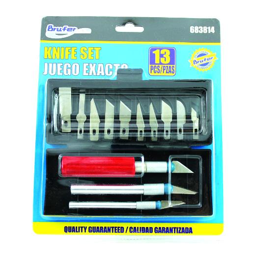 Sada vyřezávacích nožů - 13 dílná sada nožů PENTART