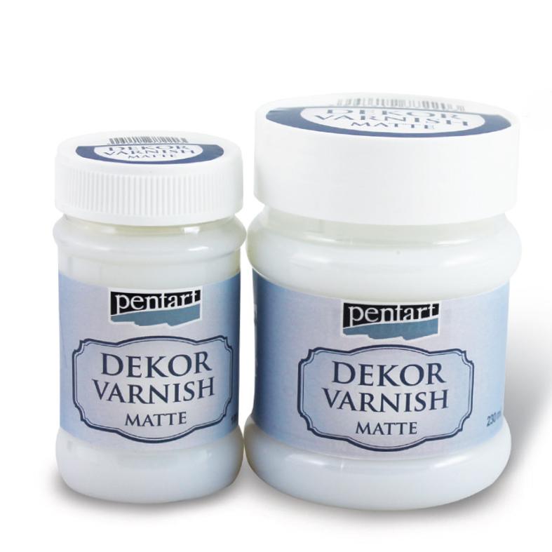 Dekorační lak matný PENTART - 100 ml dekorační lak PENTART
