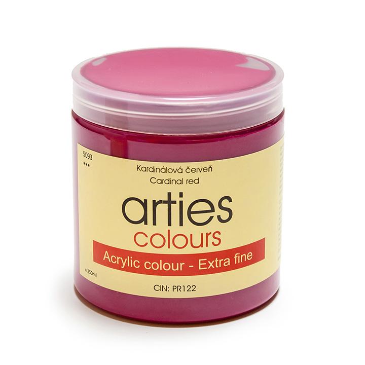 Akrylová barva Arties Colours 250 ml - Titanium White akrylové barvy Arties Colours akrylové barvy Arties Colours