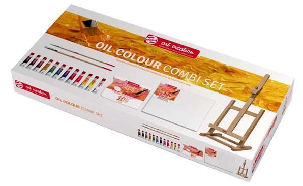 Olejové barvy Talens ArtCreation Combi set - 12x12ml Set pro malování olejovými barvami