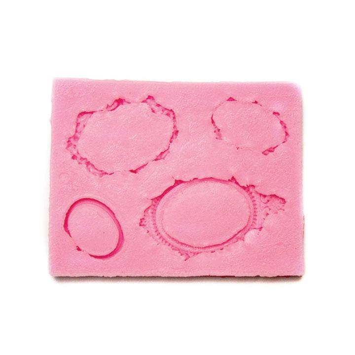 Silikonová forma na odlévání - Medailony silikonová forma Pentacolor